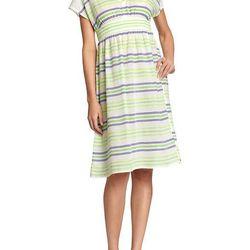 """<a href=""""http://oldnavy.gap.com/browse/product.do?cid=73355&vid=1&pid=910363""""> Old Navy V-neck striped Mexicali dress</a>, $25 oldnavy.com"""