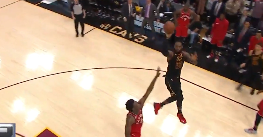 LeBron James' game-winning floater was so special it ...