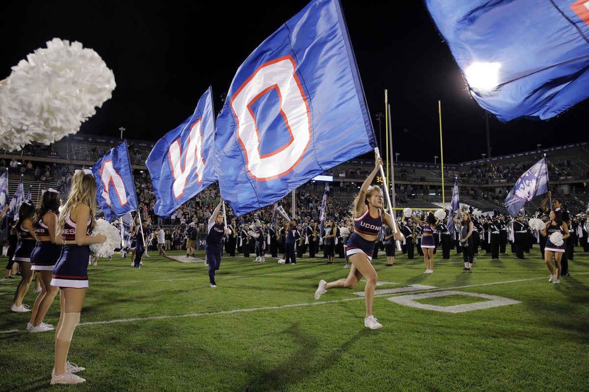 NCAA Football: Memphis at Connecticut