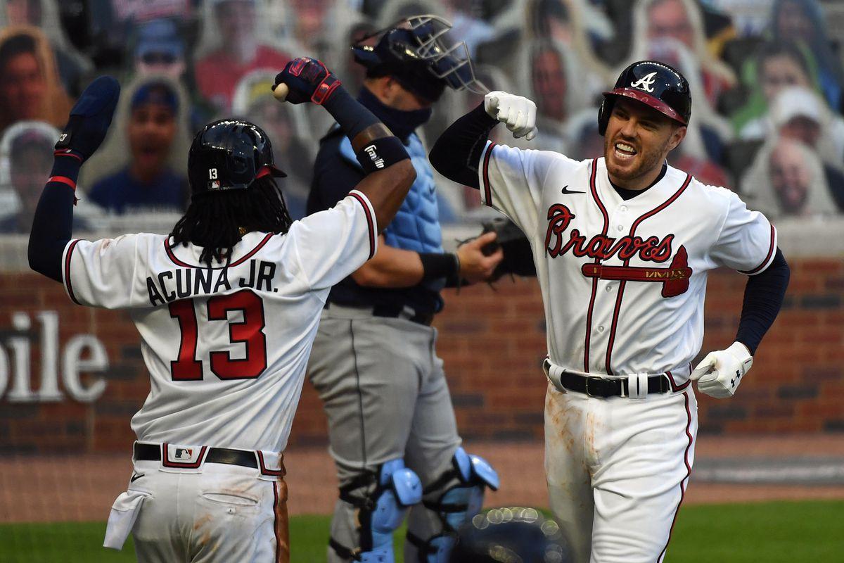 Tampa Bay Rays v. Atlanta Braves