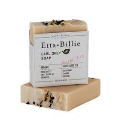 """<strong>Etta + Billie</strong> Earl Grey Soap, <a href=""""http://www.legionsf.com/products/etta-billie-earl-grey-soap"""">$10</a>"""