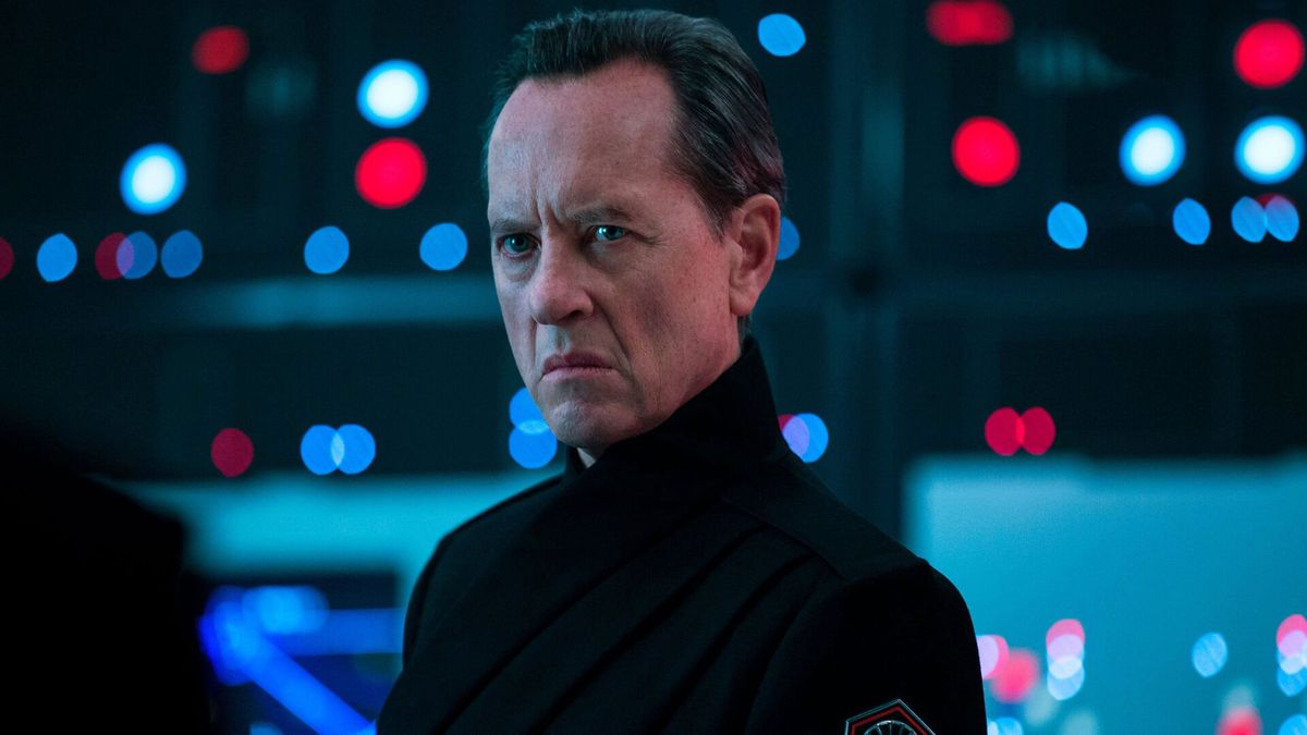 Grant in a First Order uniform.