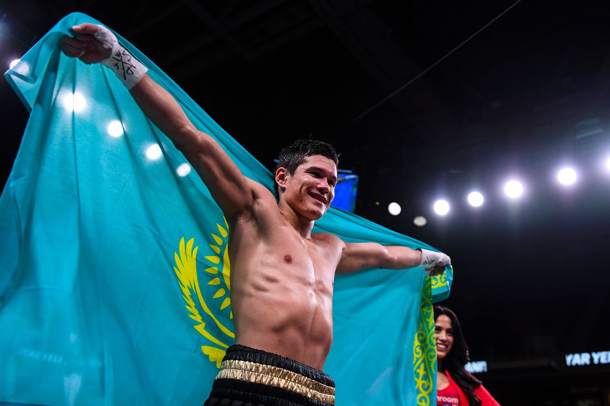 Yeleussinov, Akhmadaliev among early winners on Haney-Abdullaev card