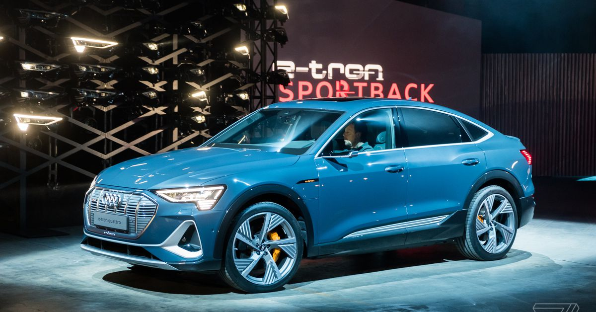 Audi tiết lộ chiếc xe điện thứ hai của mình, E-Tron Sportback