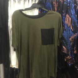 Silk pocket tee, $45 (from $130)