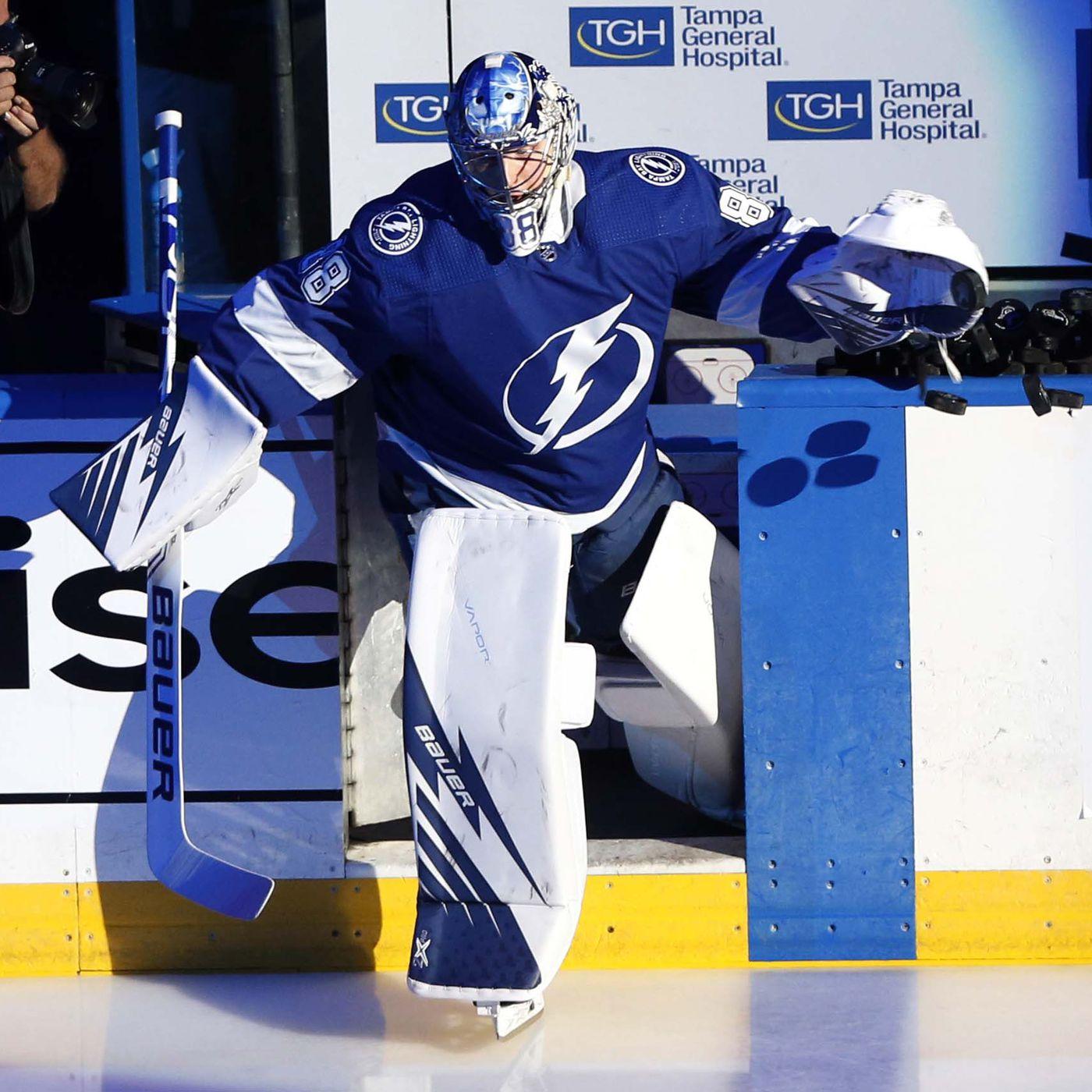 Andrei Vasilevskiy Tampa Bay Lightnings Player Swingman Jersey
