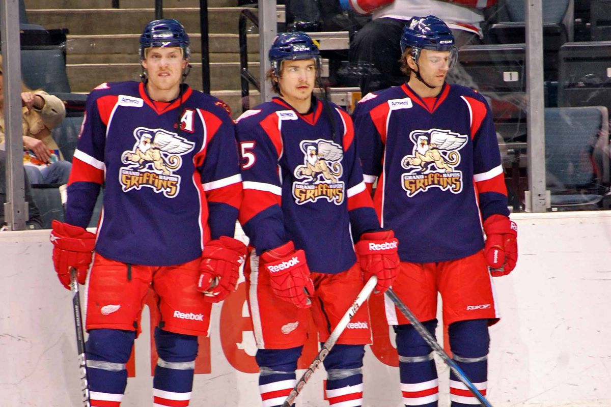 Joakim Andersson, Mitch Callahan and Brent Skinner