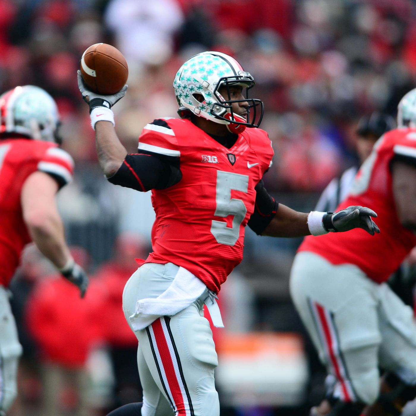 Report Ohio State To Wear 2012 Michigan Uniforms Against Wisconsin Land Grant Holy Land
