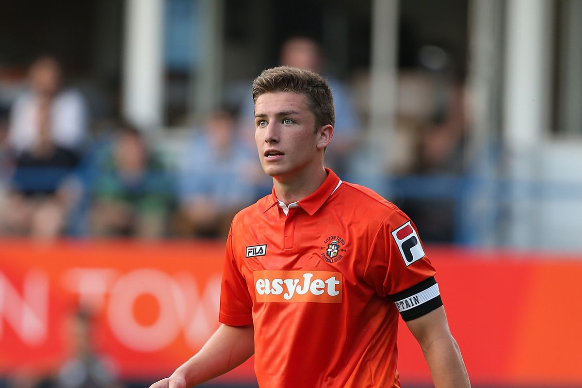 Alex Lacey captained a strong Luton side against Legg's new team, Dunstable Town