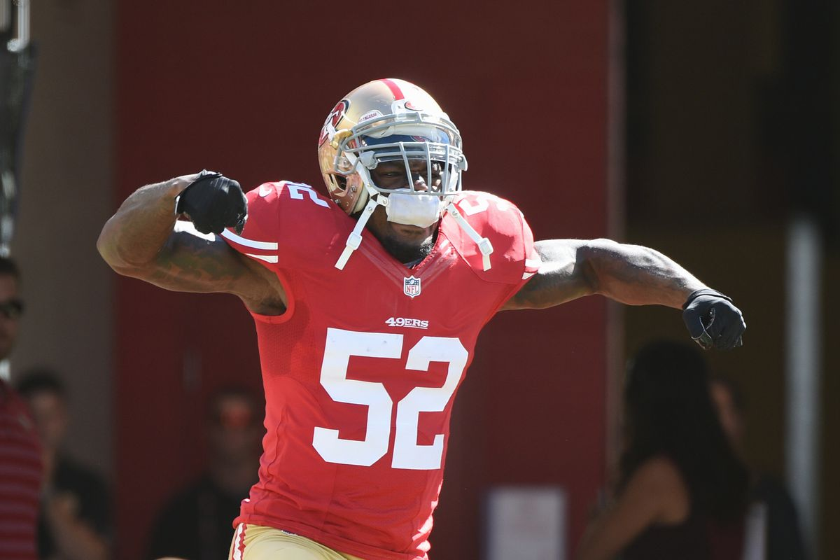 new style 32b68 1d901 Retired 49ers LB Patrick Willis is now just another Silicon ...