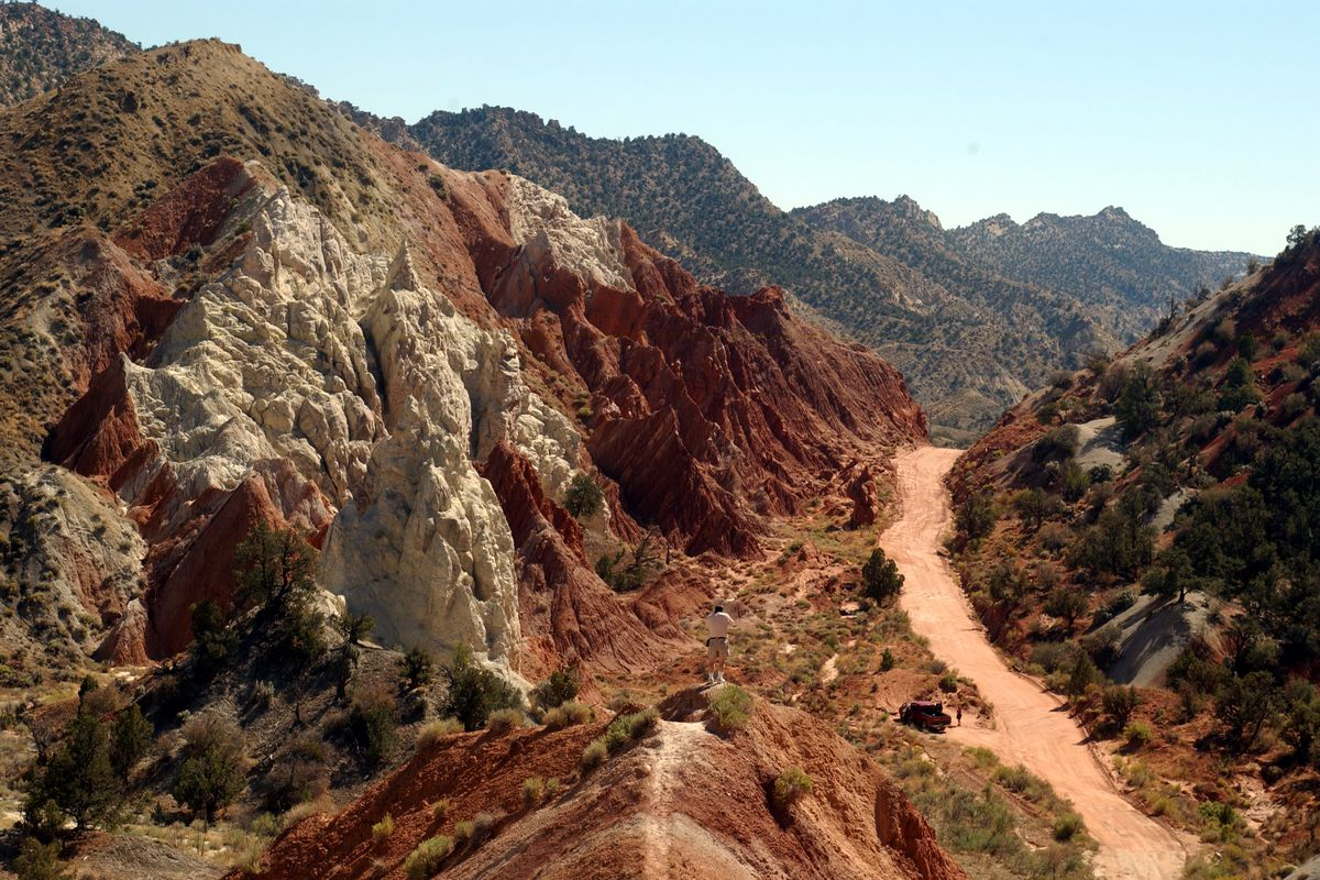 Cottonwood Canyon in the Grand Staircase-Escalante National Monument is seen on Sept. 14, 2003.