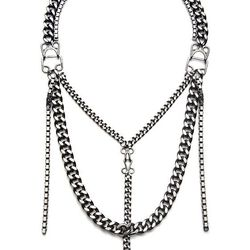 Fallon silver chain necklace (was $190, now $95)