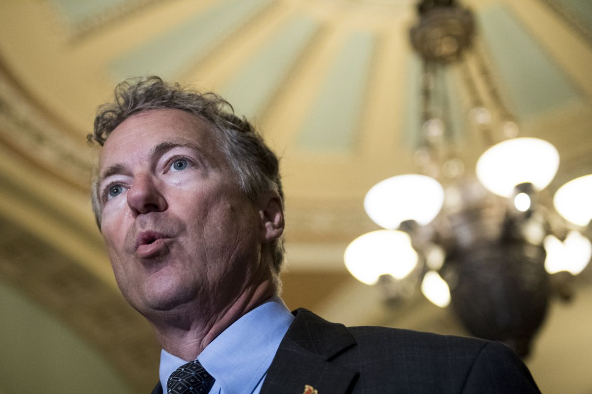 Trump calls Rand Paul a 'negative force' on health care