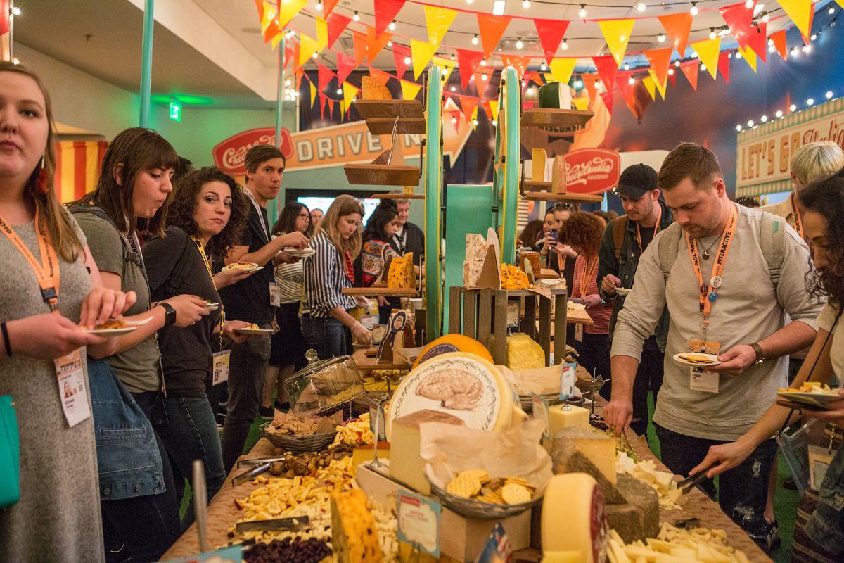 So much cheese at Cheeselandia