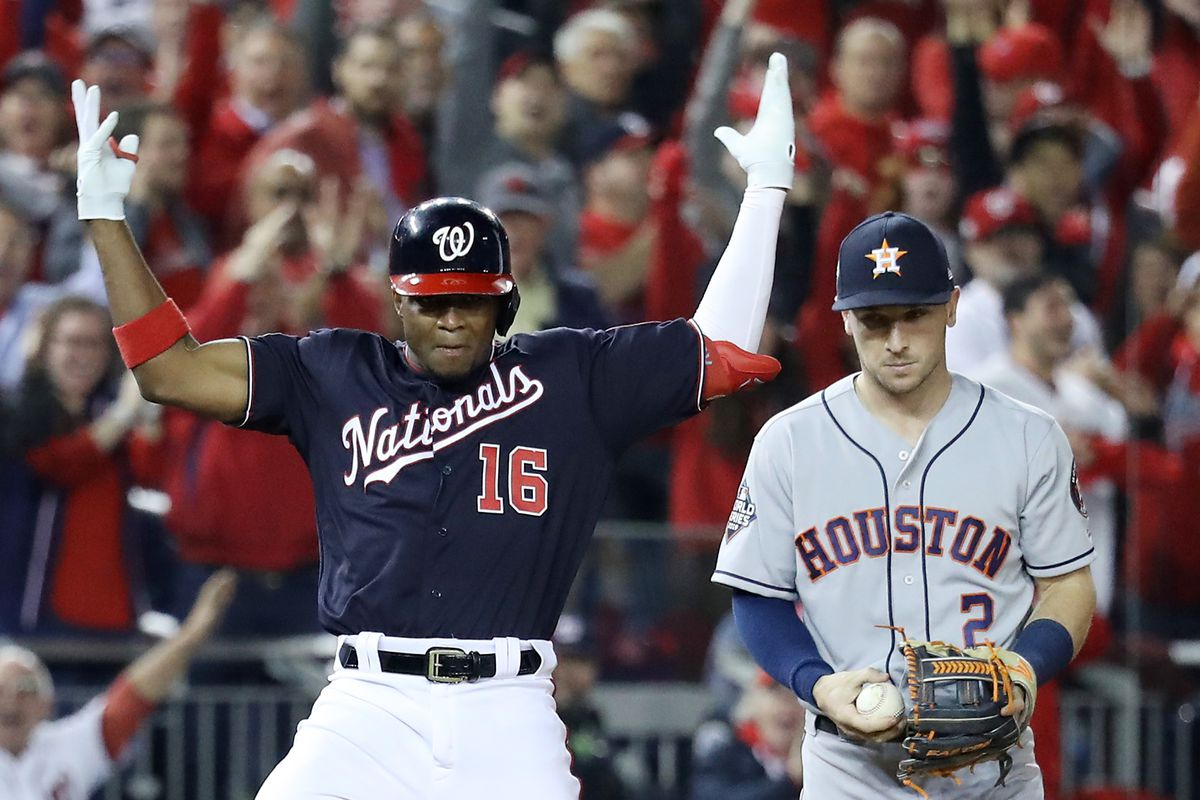 Resultado de imagen para Houston Astros vs Washington Nationals