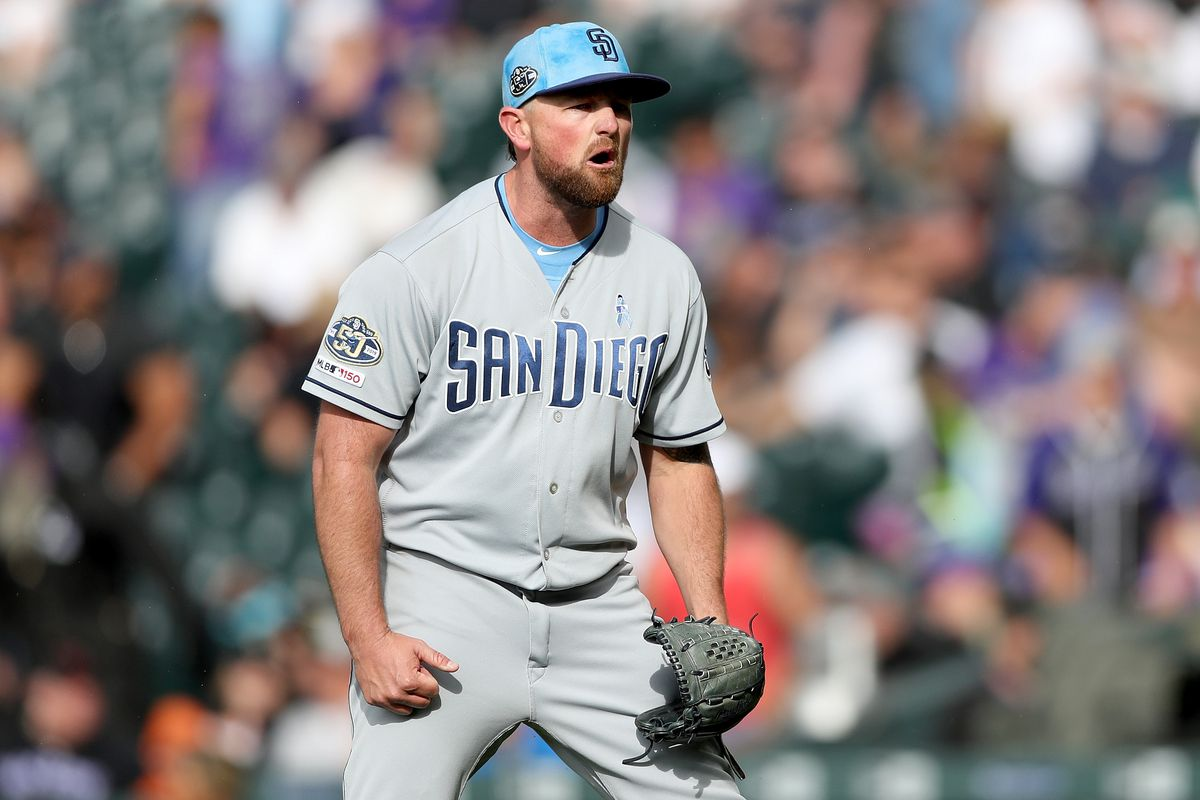 Series Preview Kirby Yates Is The Only Good Arm In The