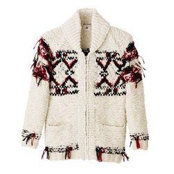 Wool Cardigan, $69.95