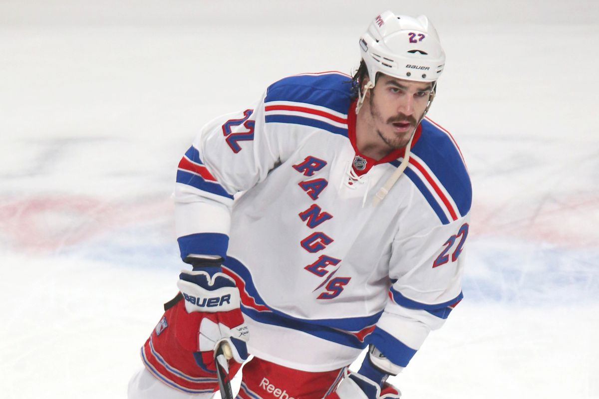 Captain Morgan's, err ... Brian Boyle's days as a Ranger may be numbered.