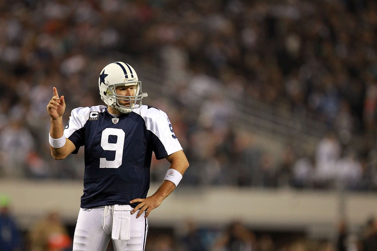 Tony Romo has the fewest interceptions of all NFC East QBs