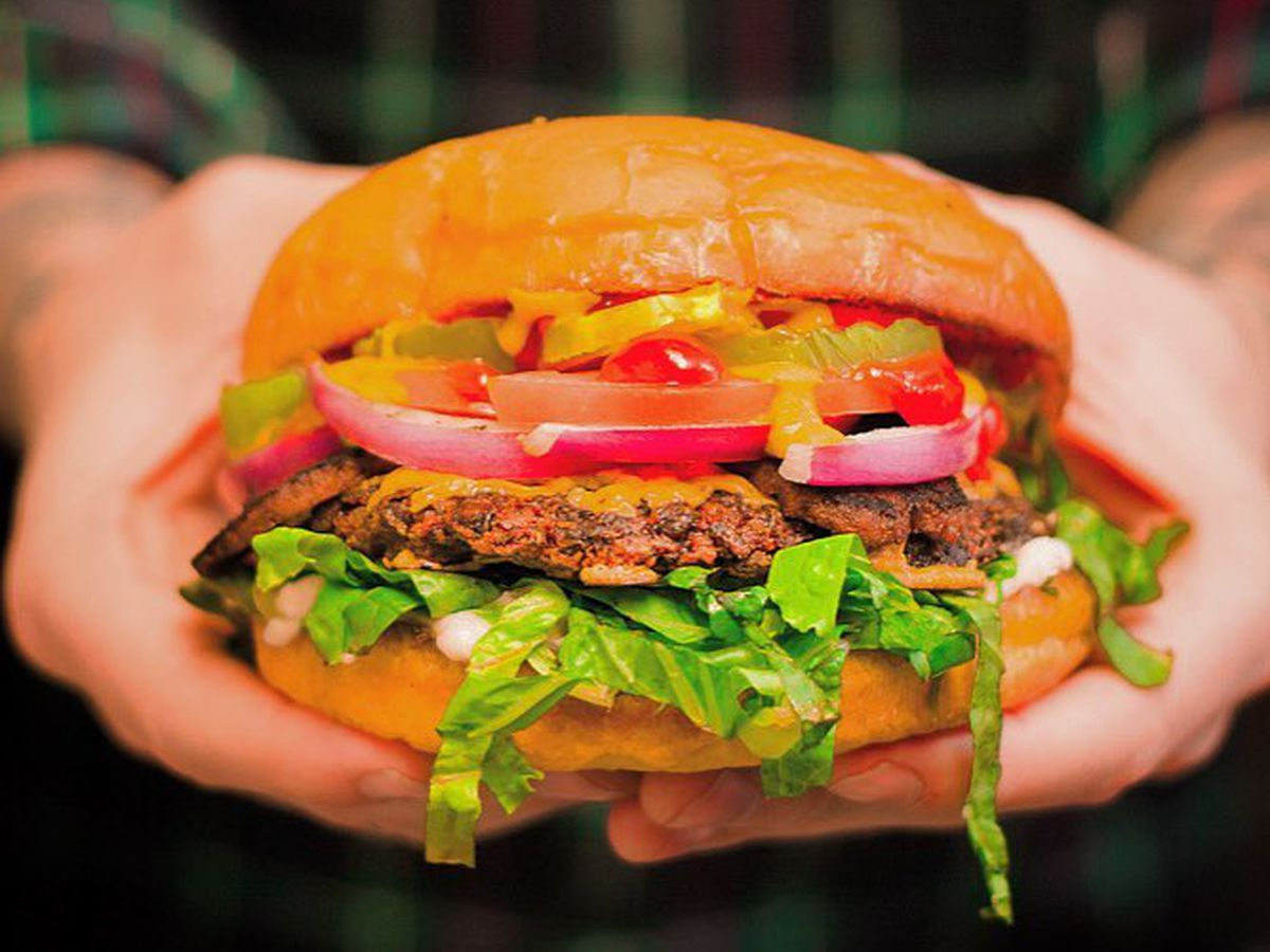 Arlo's veggie burger