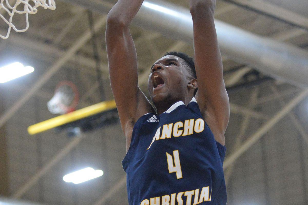 High School Basketball: Hoophall West Tournament-Chicago Simeon vs Rancho Christian