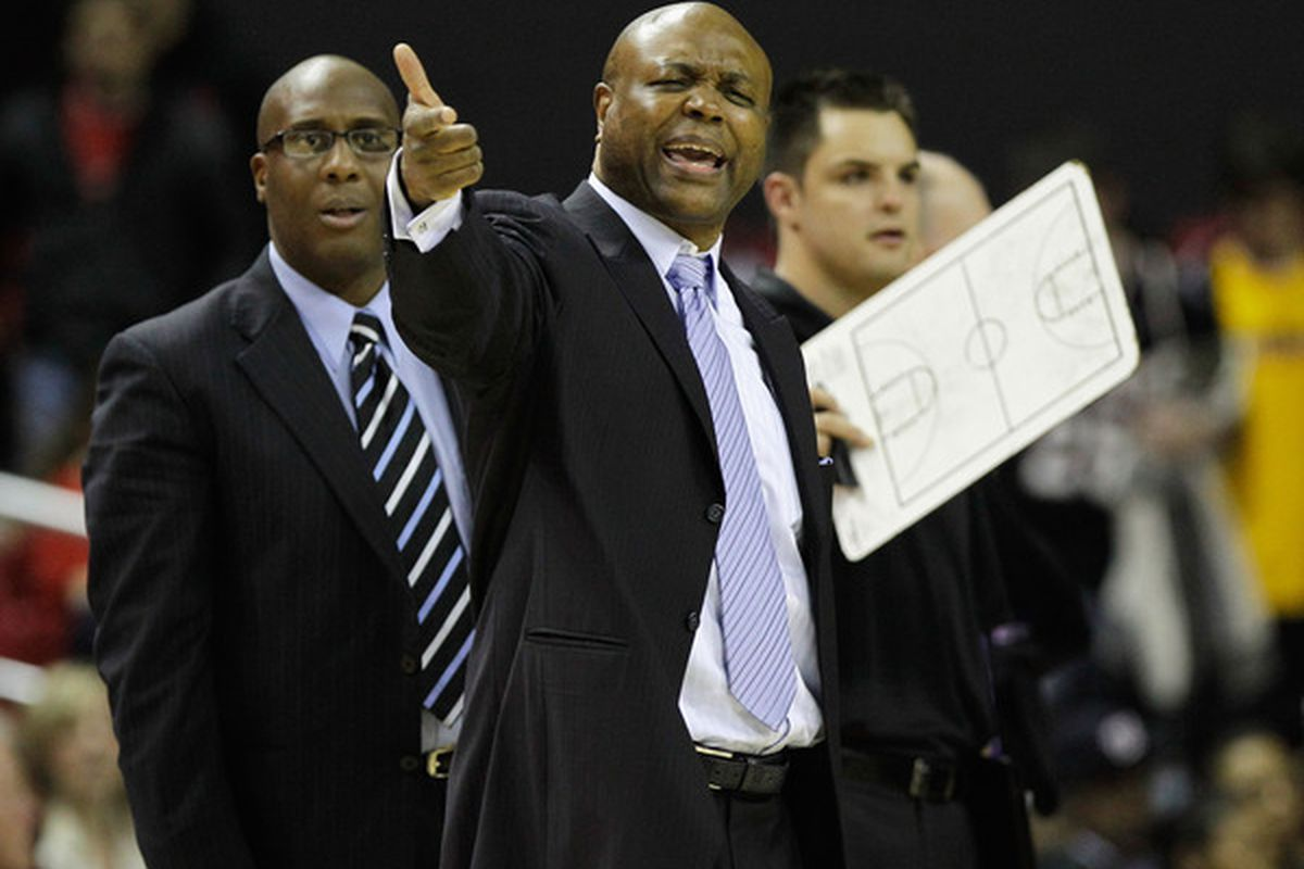 Leonard Hamilton's Noles have now won 10 ACC games for three consecutive seasons, a program first. (Photo by Rob Carr/Getty Images)