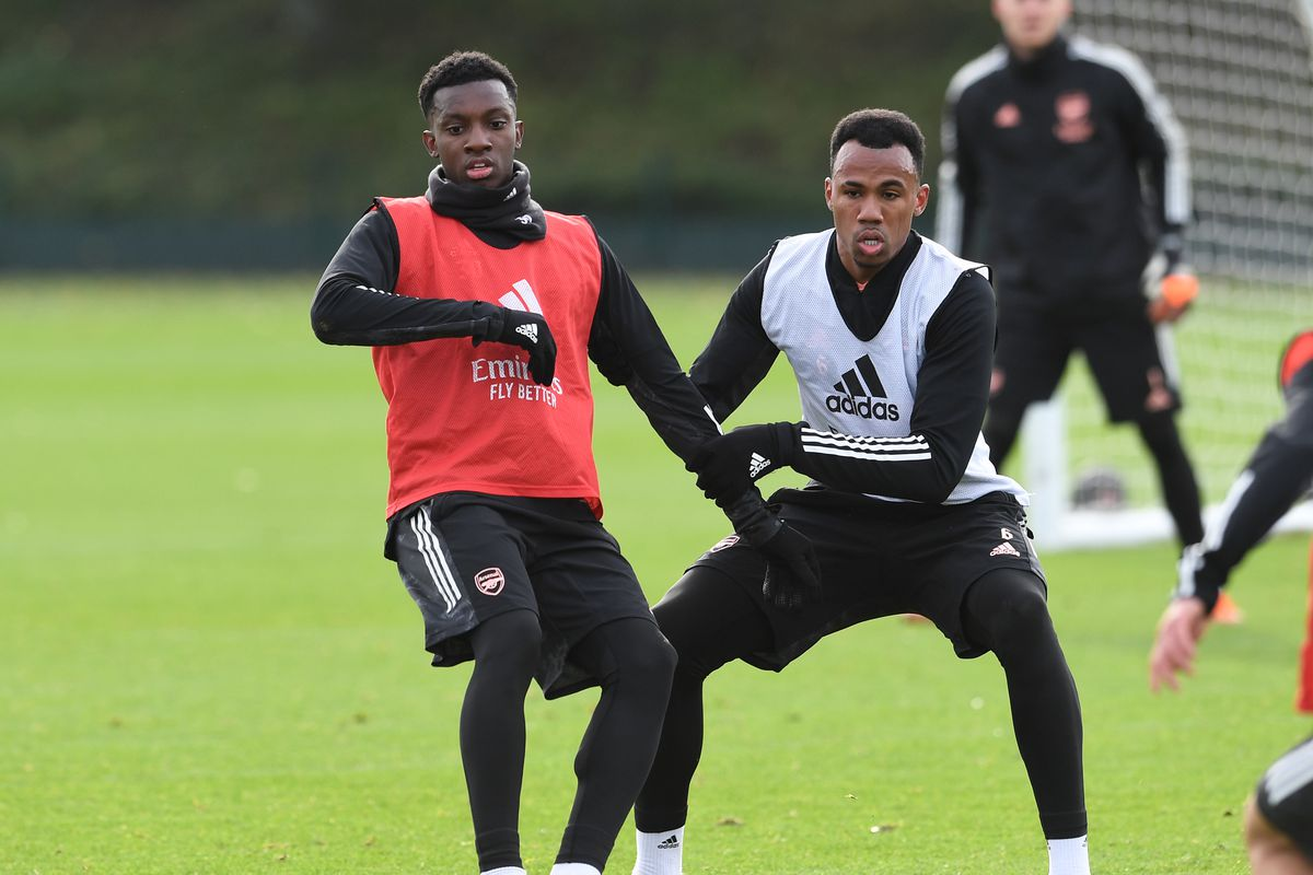 Arsenal FC - Press Conference And Training Session