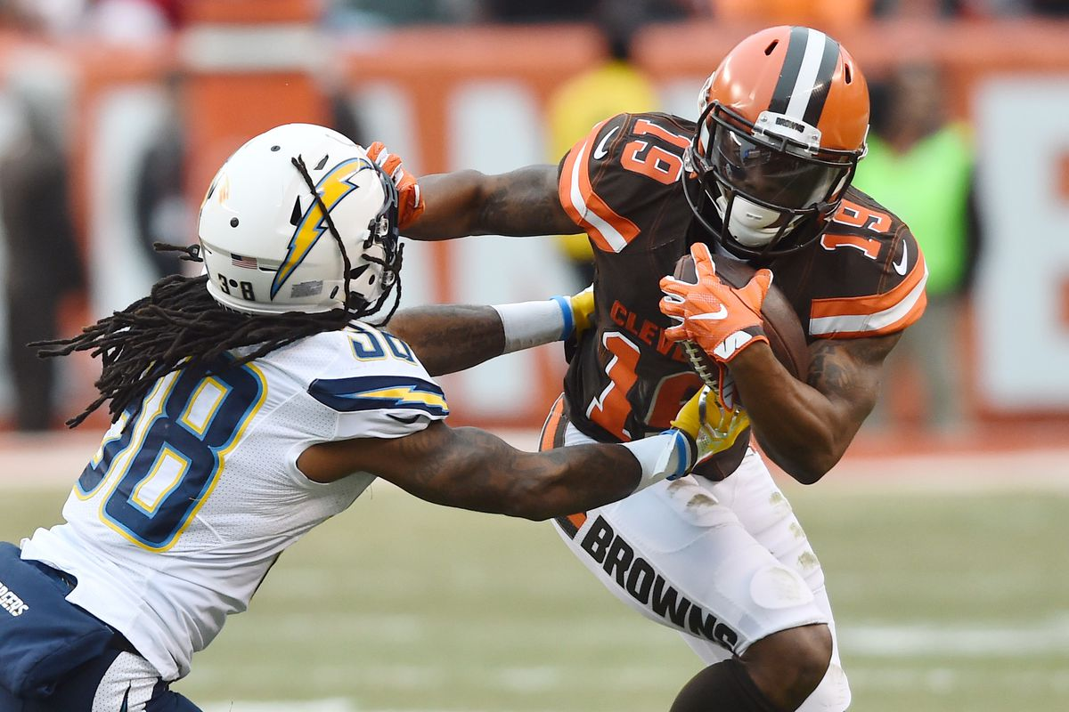 Image result for chargers v cleveland