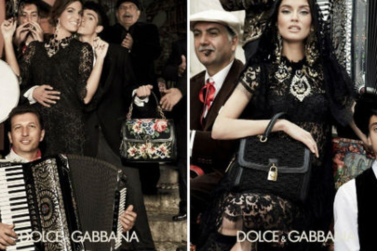 Dolce & Gabbana's fall 2012 campaign