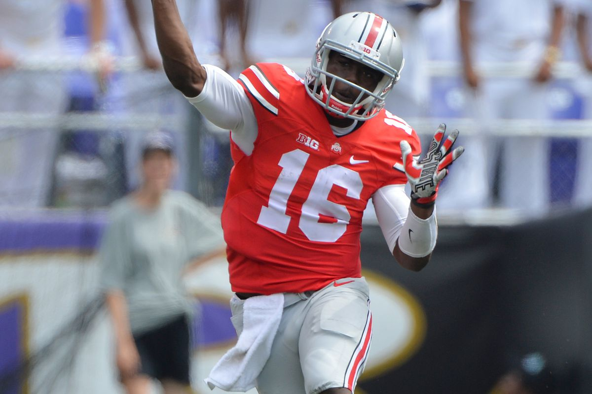 J.T. Barrett, Ohio State's starting QB