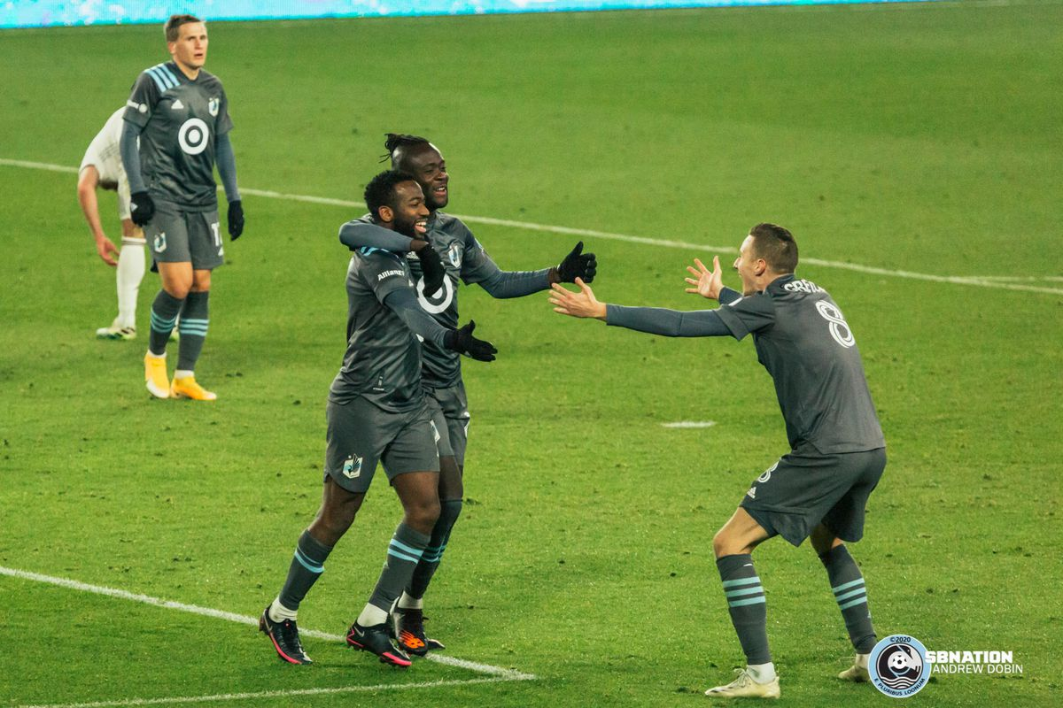 November 22, 2020 - Saint Paul, Minnesota, United States - Scenes during the first round playoff match between Minnesota United vs Colorado Rapids at Allianz Field.