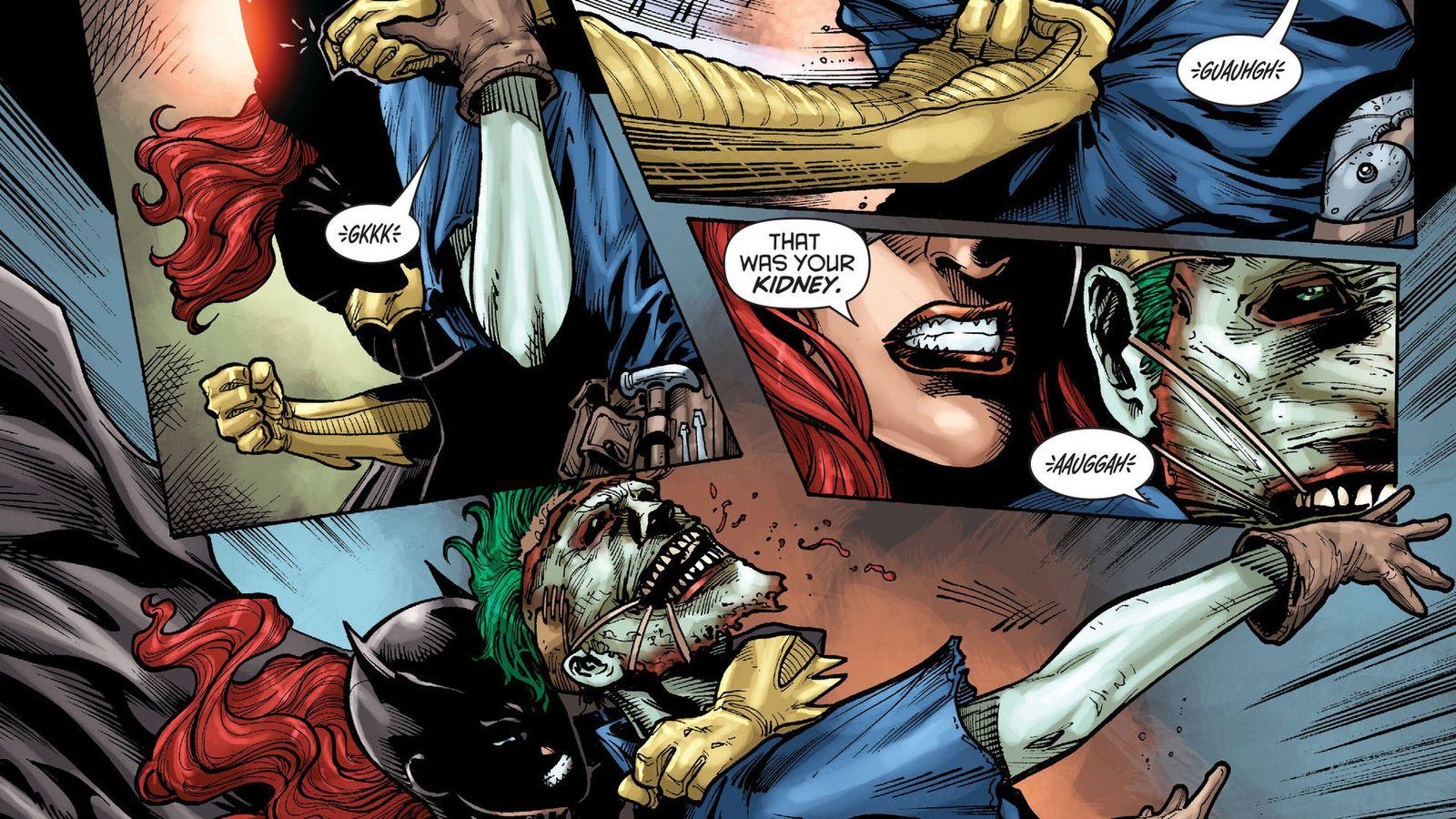 Dc Comics Pulls Controversial Batgirl Cover At Creators -8995