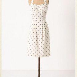 "<a href=""http://www.anthropologie.com/anthro/product/shopsale-dresses2/24252355.jsp"">Sincerely Paris halter dress</a>, $99.95 (was $148)"