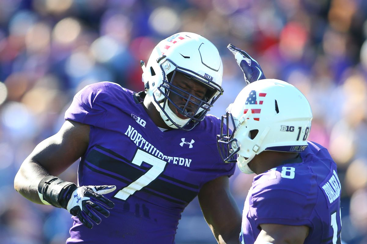 separation shoes 8cd42 f34aa Northwestern is counting on Ifeadi Odenigbo...and he's ready ...