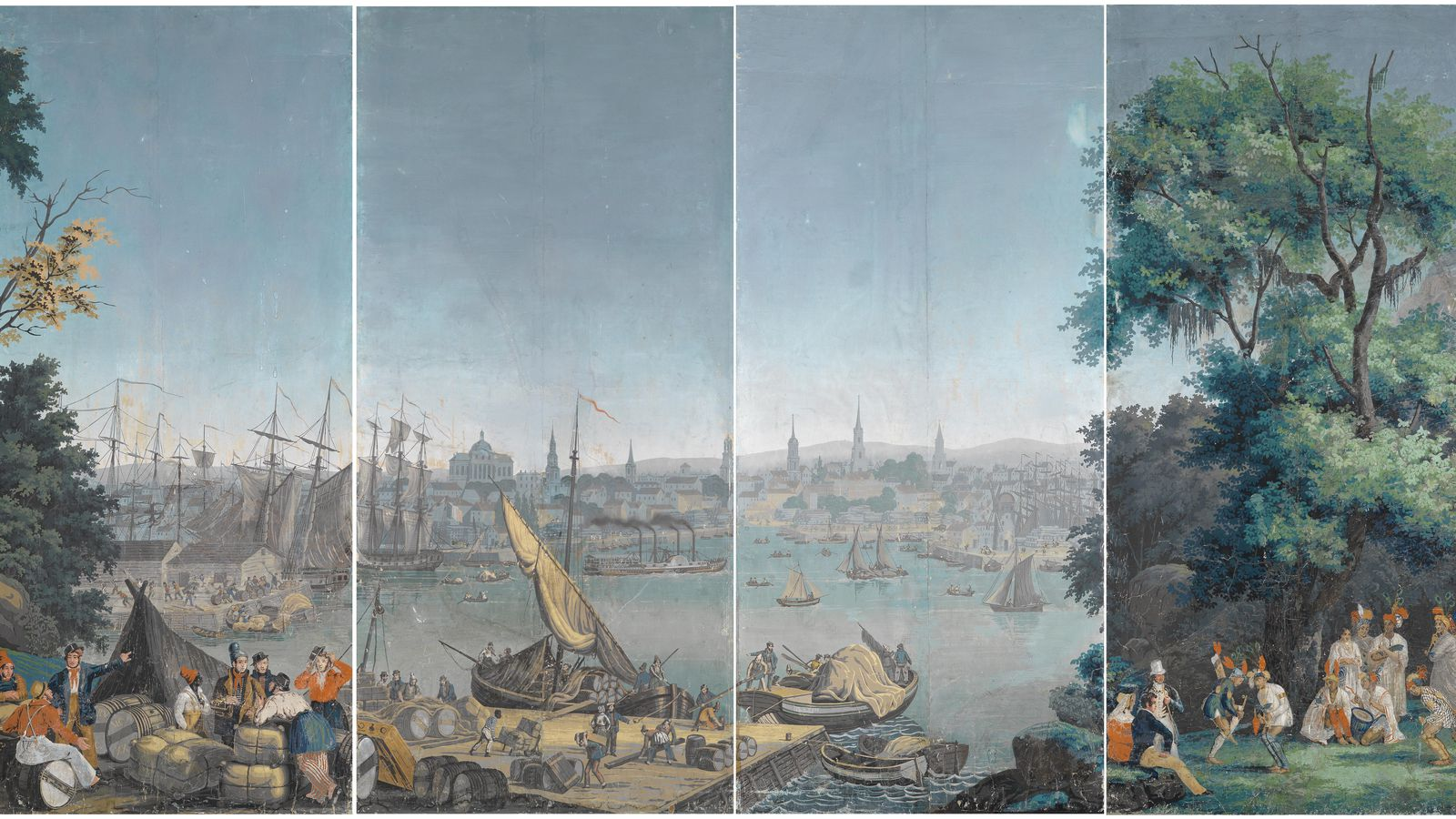 historic wallpapers why they 39 re different and why it
