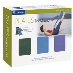"""The <strong>Gaiam</strong> Pilates Body Band Workout Kit, <a href=""""http://www.target.com/p/gaiam-pilates-body-band-workout-kit/-/A-10709167#prodSlot=medium_1_16&term=exercise+band"""">$29</a> at Target, is for the friend that wants to sculpt and tone without"""