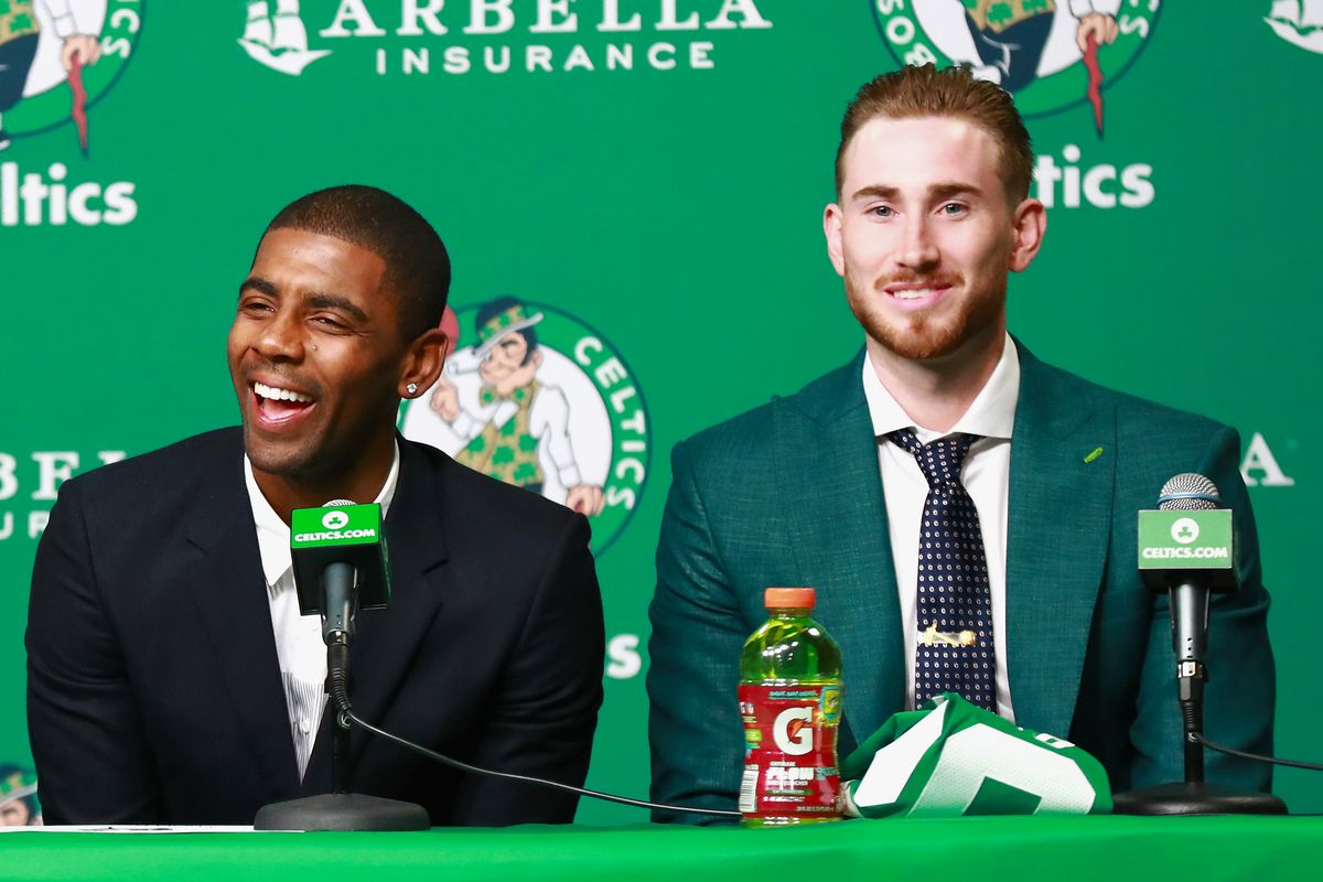 72dee69e26e Gordon Hayward and Kyrie Irving might have been teammates in 2014 if not  for LeBron James
