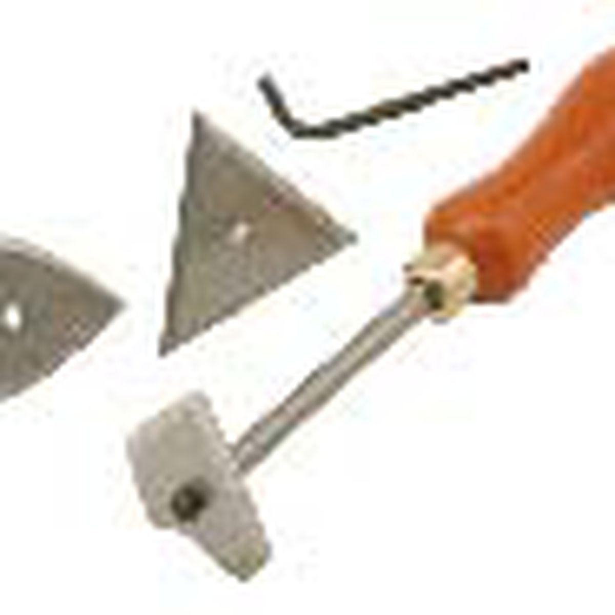 molding scraper
