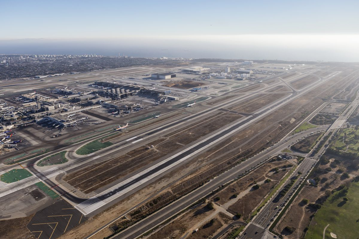 An Aerial View Of Lax Shutterstock Com