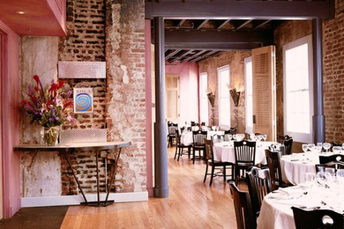 Third floor at Emeril's NOLA Restaurant.