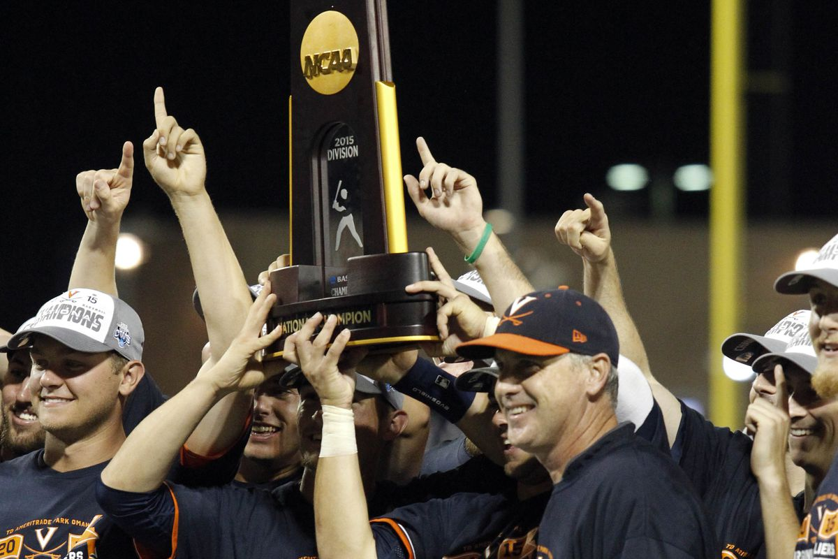 Our model gives the Virginia Cavaliers a 6% probability of making their 3rd straight championship series.