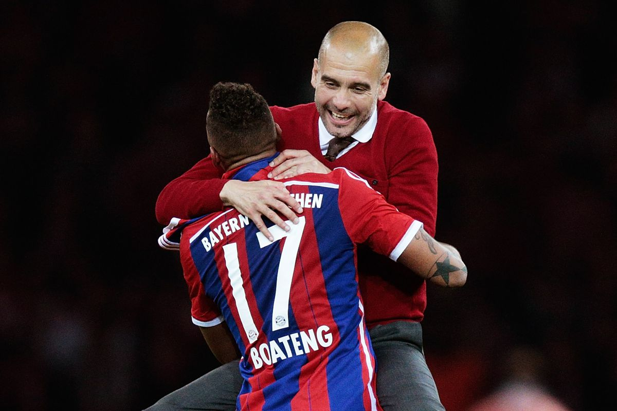 Image result for jerome boateng pep guardiola