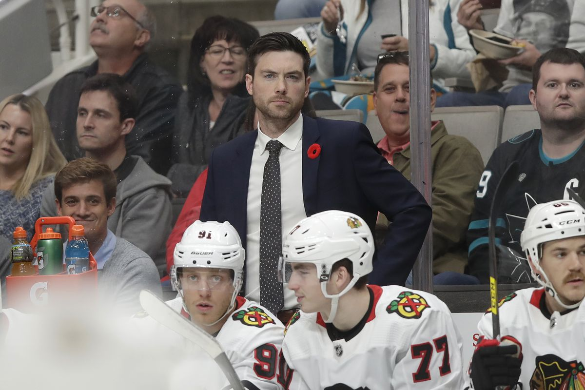 Jeremy Colliton's conservative system didn't work for the Blackhawks at all on Tuesday.
