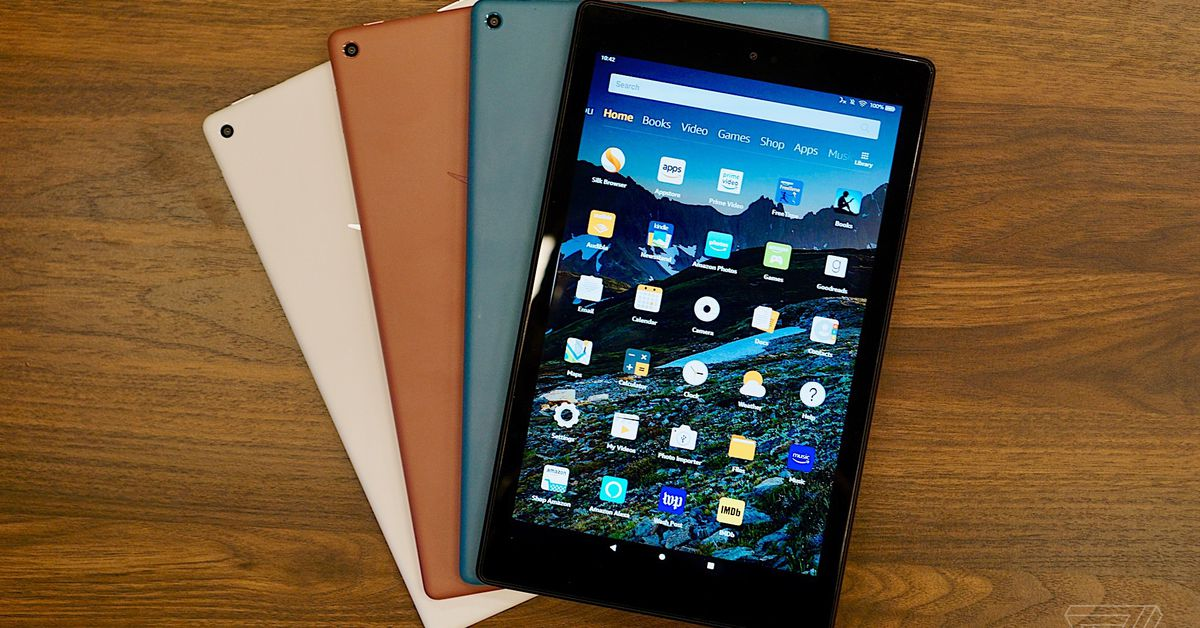 Amazon updates the Fire HD 10 with a faster processor and USB-C