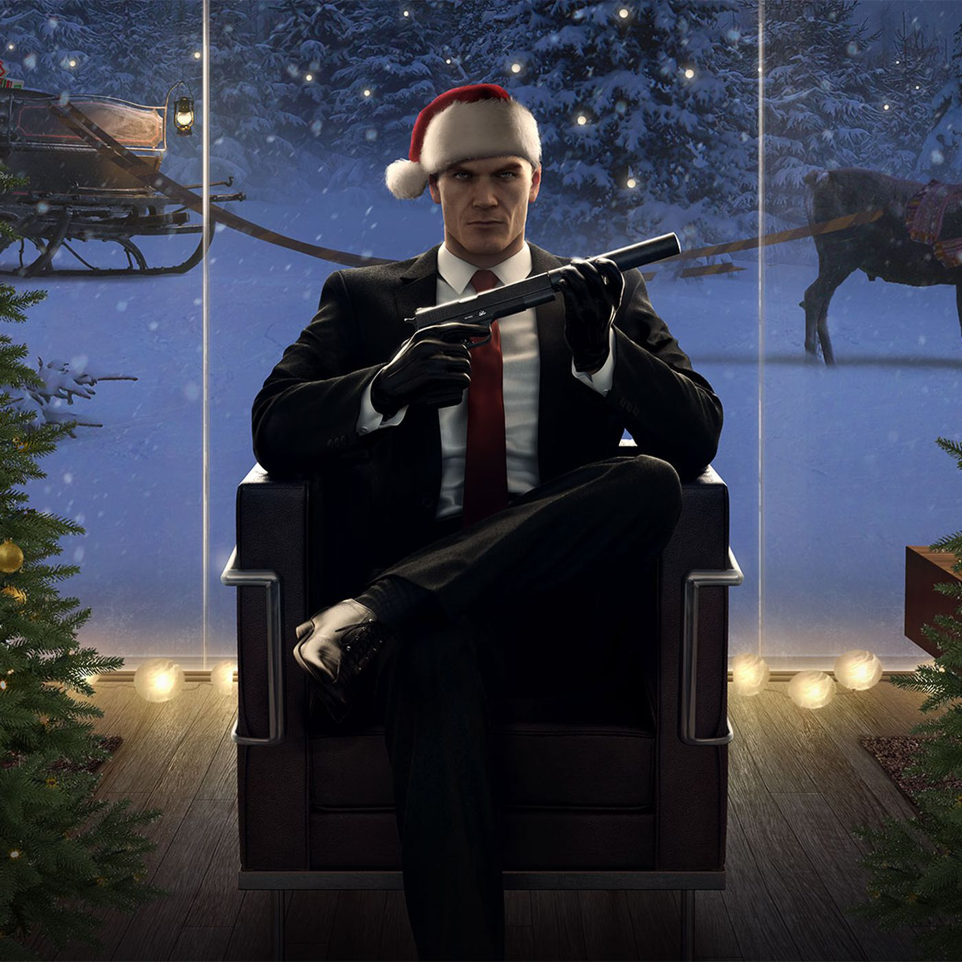 Hitman S Paris Level Will Be Free To Download For A Limited Time Polygon