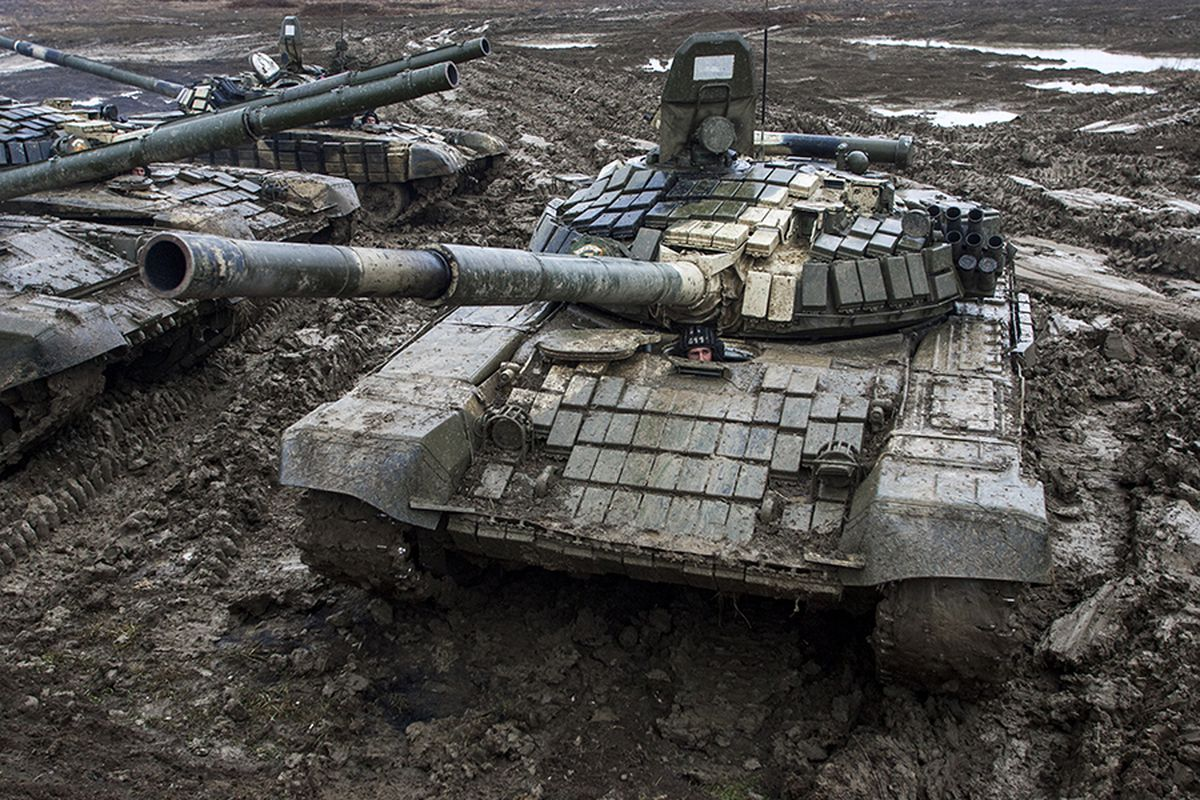 Russian T-72BM tank in use in Chechnya