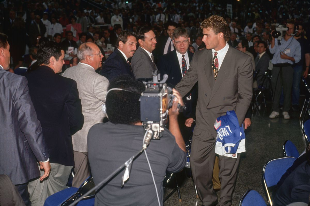 Eric Lindros, Nordiques' #1 Draft Pick