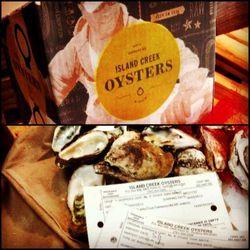 Island Creek Oysters!