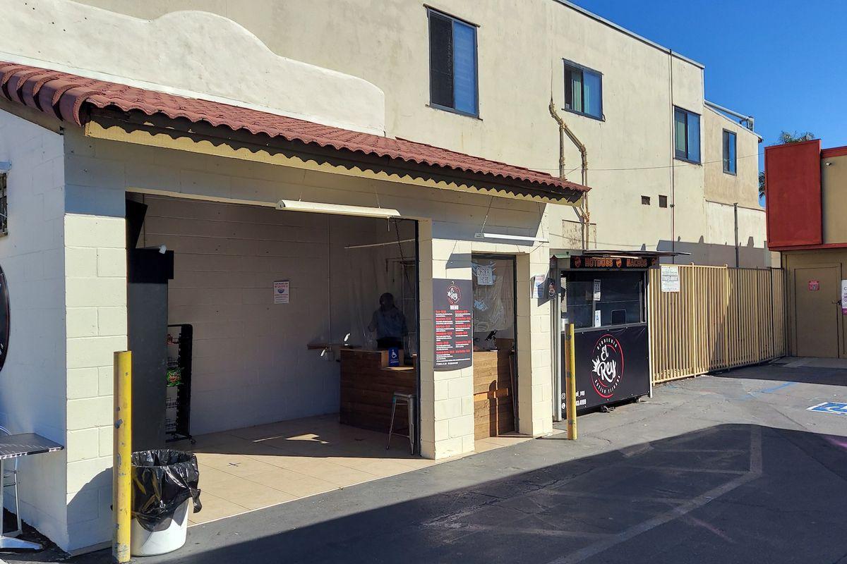 Birria El Rey's now-permanent food stand in Golden Hill