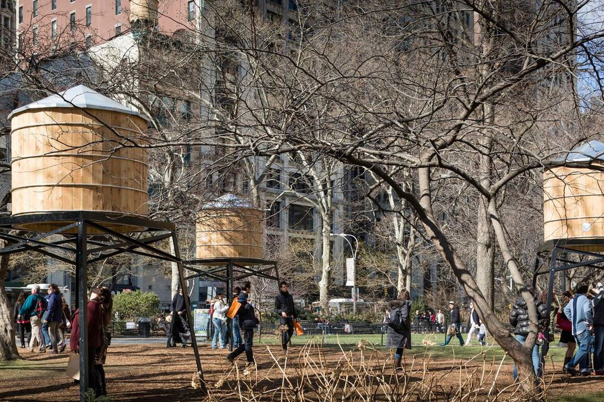 """""""This is Your Land,"""" on view at Madison Square Park. Image via Madison Square Park/Facebook"""